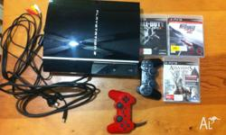 hi, I have for sale one of the ps3 (still in great