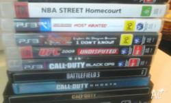 I'm selling.... *Call of duty black ops $20 *UFC 2009