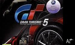 Games with cases and instructions. gran tourismo5 and
