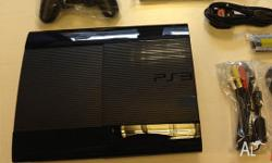 I'm giving away my slimline PS3 charcoal black as i'm