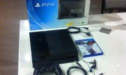 Recently acquired PS4 500gb is up for sale in new