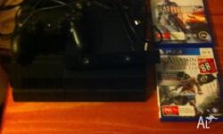 Ps4 500gb Ps4 camera Ps4 controller Battlefield 4