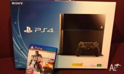 Hi I am selling my ps4 with one dual shock controller,