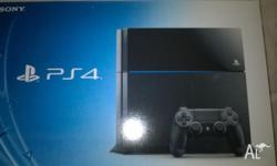 Gday, i am selling my ps4 with two games. pack cost mee