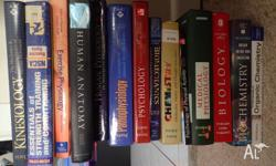 I have a variety of Medical/Scientific Textbooks for