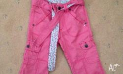 Brand new with tags Pumpkin Patch 3/4 pants size 5