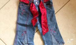 I have for sale a pair of pumpkin patch 3/4 jeans size