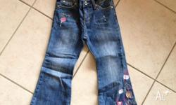 I have for sale a pair of pumpkin patch jeans size 4 in