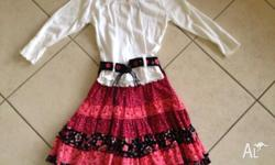 I am selling a pumpkin patch skirt & top both size 4
