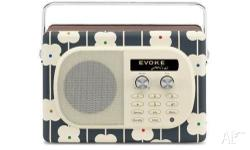 PURE Evoke Mio by Orla Kiely Abacus Portable Digital &