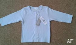 Brand new with tags, Blue/White stripe, long sleeve
