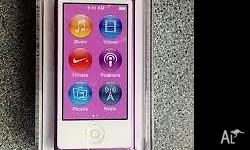 PURPLE APPLE IPOD NANO 16GB - SEALED - BRAND NEW -