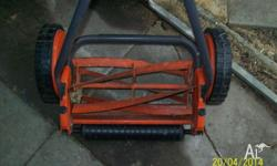 Flymo H33 Push Lawn Mower. 4 years old. Not used often