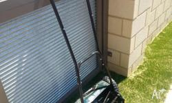 Ozito push mower - good condition. $35.00. Can drop off