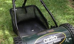 Ozito Push Reel Mower Ideal for small lawn. Only used a
