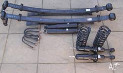 Basicly brand new complete suspension package front and