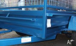 Q Trailers 7x5 heavy duty box trailer with cage opt,