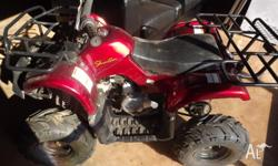 Shintan quad bike, as new condition. Only 18 months