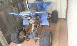 SENYONG QUAD BIKE. WE HAVEN'T USED IT FOR AGES AND IT