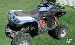 quadrunner repowered with briggs motor new heavy duty