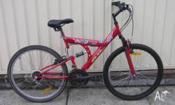 QUAKEPROOF 01 MOUNTAIN BIKE IN VERY GOOD CONDITION. 26""