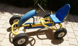 Quality Berg pedal Go-cart for sale, good condition,