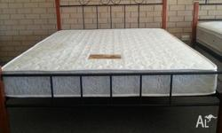 Quality Wood & Metal Bed Frame At A Great Price For