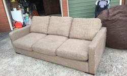 3 seater, Queen sized sofa bed form freedom, comfy and