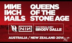 1x ticket for Queens of the Stone Age & Nine Inch Nails