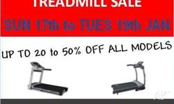 * Sale now extended to Wed 27th Jan* TREADMILL FITNESS