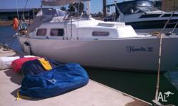 Quest 8 Meter Solid pocket cruiser, all the goodies and