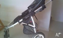 The stroller is in excellent condition. It was