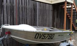 2004 model, bare hull only, good condition, no repairs,