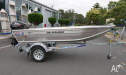 QUINTREX 370 EXPLORER - HULL ONLY Quintrex quality made