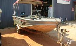 385 Quintrex Explorer 2003 Model Mercury 25Hp 2008
