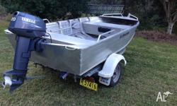 Boat, motor ad trailer purchased new in 2007, very