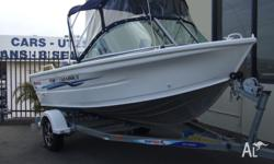 QUINTREX 430 FISHABOUT: Brand new model with full