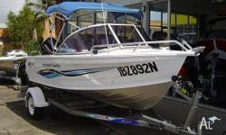 QUINTREX 435 COAST RUNNER, 2006, IMMACULATE CONDITION,