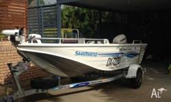 Great all round boat. Powered by a 50 hp E-TEC HDS 5
