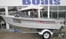 QUINTREX 445 Bay Hunter, 1995, Runabout, 1995 QUINTREX