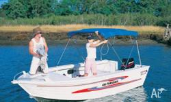 Quintrex 450 Fish Seeker, 2011, White, Open / Dinghy,