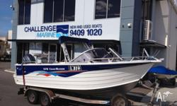 Reduced - Great Fishing Platform. 2004 Quintrex 570