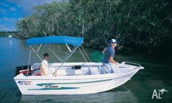 Quintrex 5.00 Fish Seeker, 2011, White, Open / Dinghy,