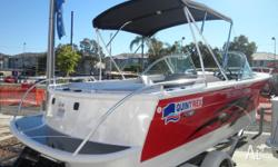 QUINTREX 610 FREEDOM CRUISER MY09, 2010, red/white,