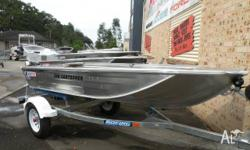 QUINTREX (Alum.) 340 CAR TOPPER GO FISHING, 2011, 8 HP