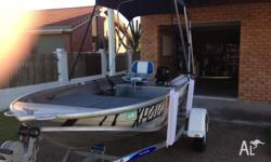 Boat, Motor, Trailer, all 2014 and won on Australia day