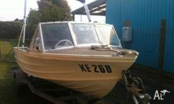 Im selling my 4,4 metre quintrex tinnie, it has a 25hp