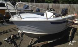 FOR SALE QUINTREX DORY 4.1 CENTRE CONSOLE PACKAGE -