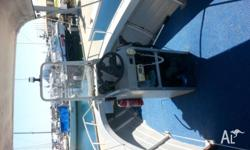 Great boat, 60 hp Mercury very reliable, spare prop, 57