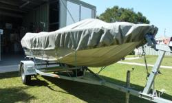 Excellent condition suit new buyer, boat , trailer and